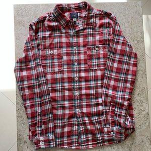 J. Crew Sportsmen Outfitter Plaid Button Shirt L